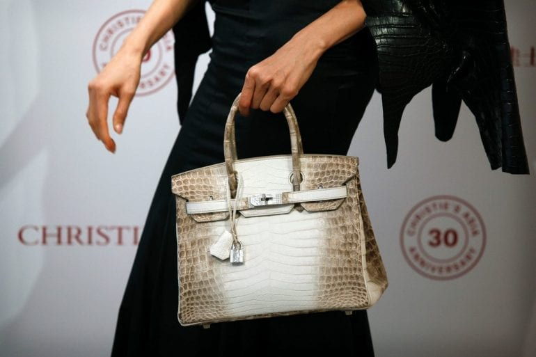 most expensive birkin sold christies 770x513 - Himalaya Niloticus Crocodile Birkin