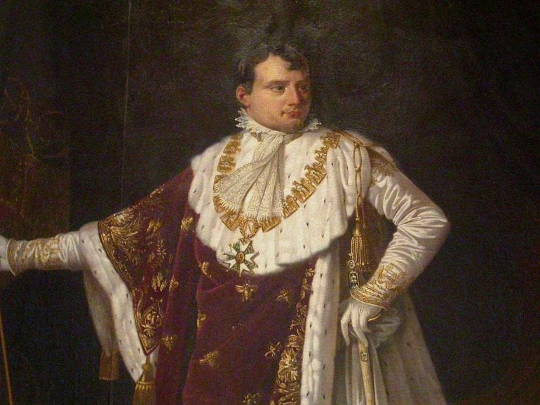 napoleon costume sacre lefevre1 770x578 - Arthus-Bertrand