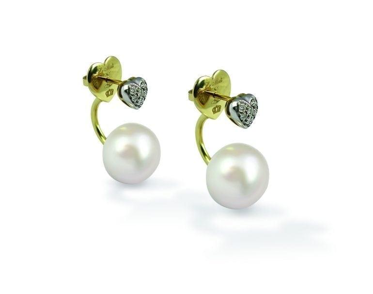 orecchini Le Midì cuore e diamanti ok 770x606 - Le Midì, acum și în  magazinul Micri Gold