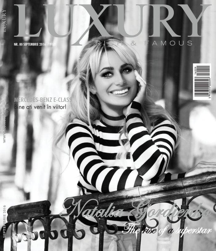 Natalia Gordienko – Luxury 80   Septembrie 2016