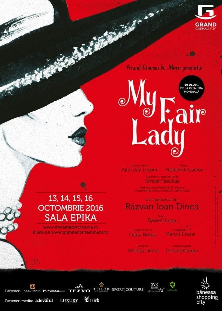 My Fair Lady Grand Cinema More poster 770x1078 - My Fair Lady revine la Grand Cinema & More