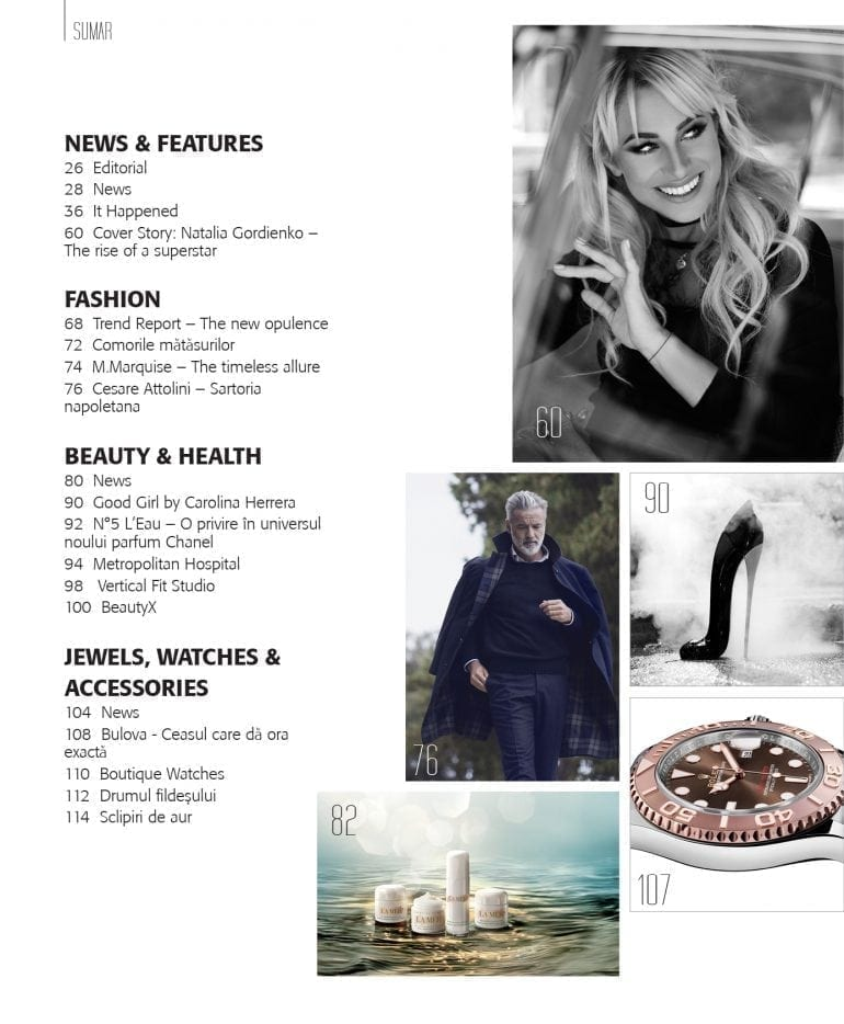 sumar 770x934 - Natalia Gordienko - Luxury 80 | Septembrie 2016