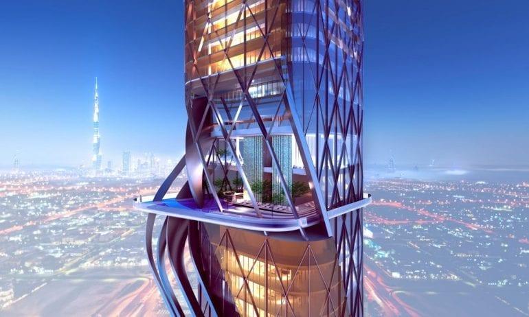 Close up 2.jpgDubai Rosemont Towers ZAS Architects Dubai Close Up 770x462 - Pădure tropicală în Dubai