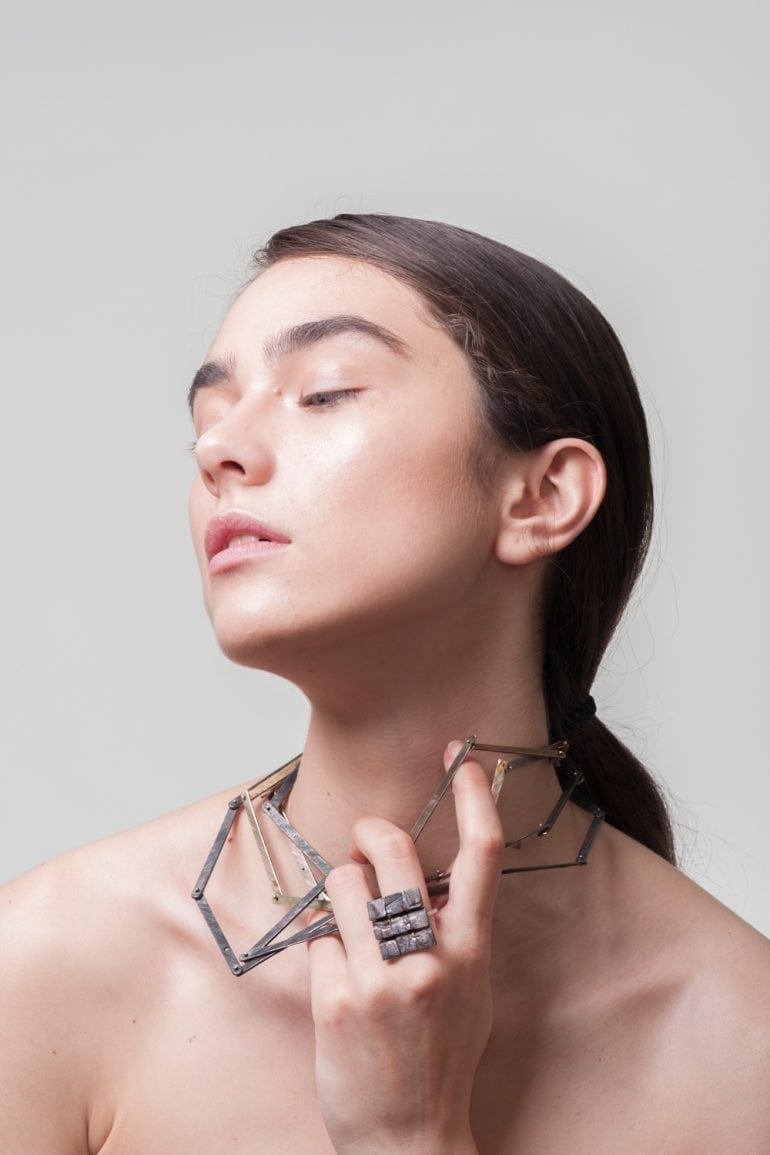 ioana-ardelean-cut-lingot-necklace-burnt-structure-ring