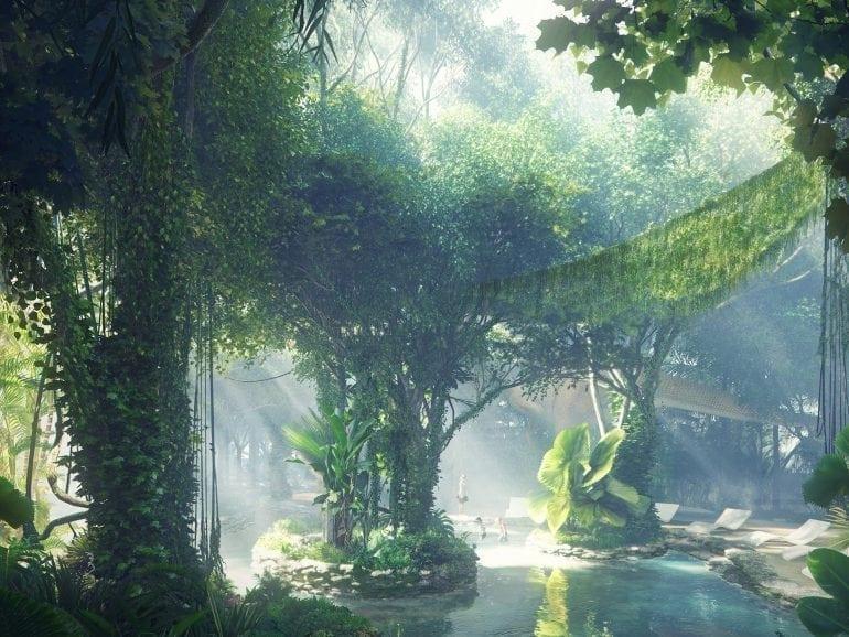 Rosemont Hotel rainforest 01 cr Plompmozes 770x578 - Pădure tropicală în Dubai