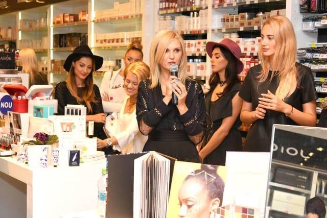 diana baicu prezentare topline - Secretele frumuseții dezvăluite la Top Beauty Trade Show