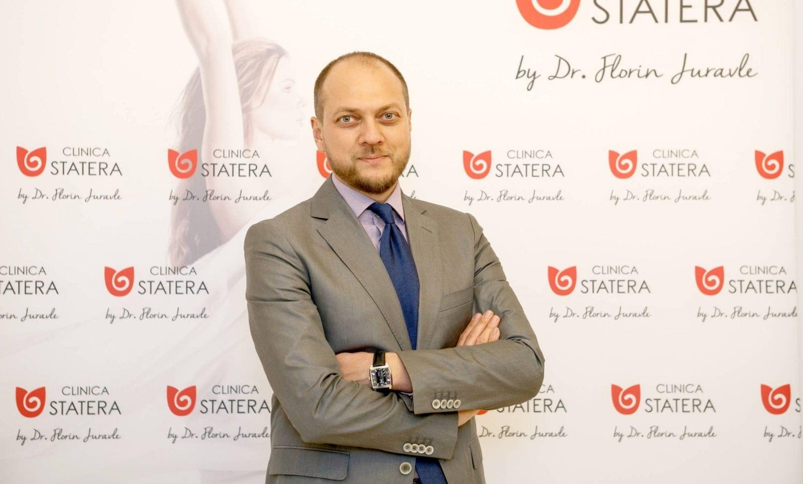 dr florin juravle 2 e1475757245162 - Clinica STATERA, inovația medicului chirurg estetician Dr. Florin Juravle