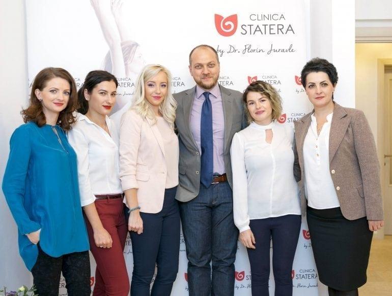 echipa dr florin juravle 770x583 - Clinica STATERA, inovația medicului chirurg estetician Dr. Florin Juravle