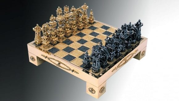 Royal Chess Set by House of Solid Gold