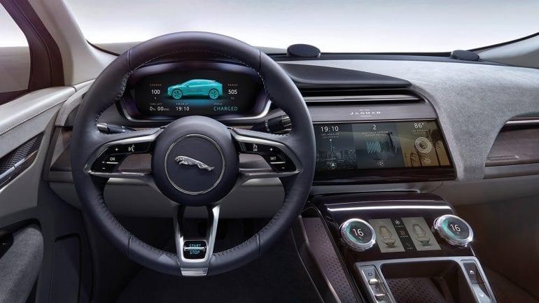 JAGUAR I PACE INTERIOR 770x433 - Jaguar a lansat I-PACE, primul model electric al mărcii