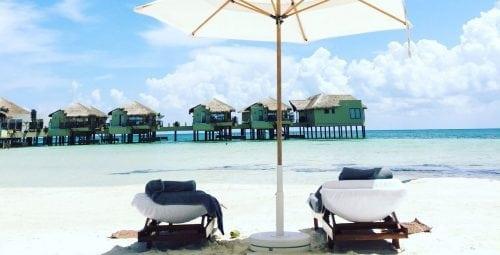 Bungalow-urile plutitoare de pe Riviera Maya