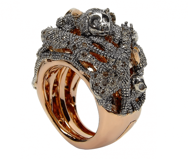 animal-collection-animal-panther-ring-18ct-rose-gold-brown-diamonds-1