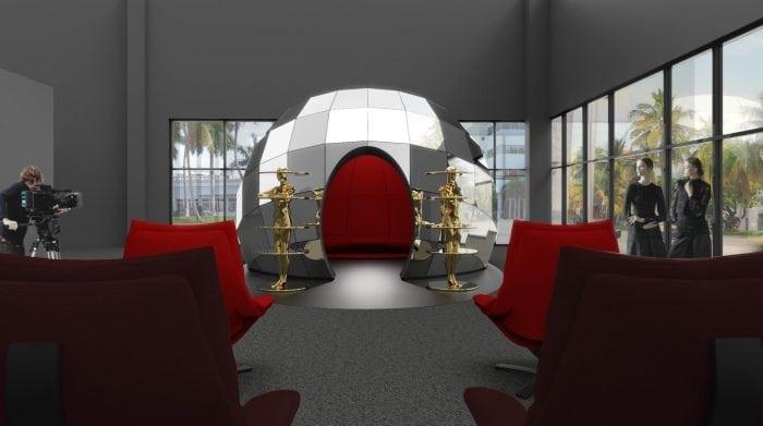 NATUZZI a prezentat în Miami instalațiaINTRO de Fabio Novembre