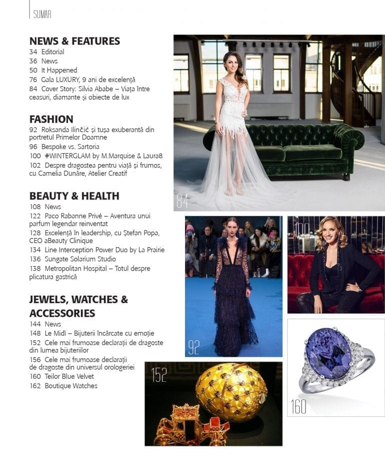 Sumar luxury 83 770x934 - Luxury 83 - Silvia Ababe / Winter Edition 2017