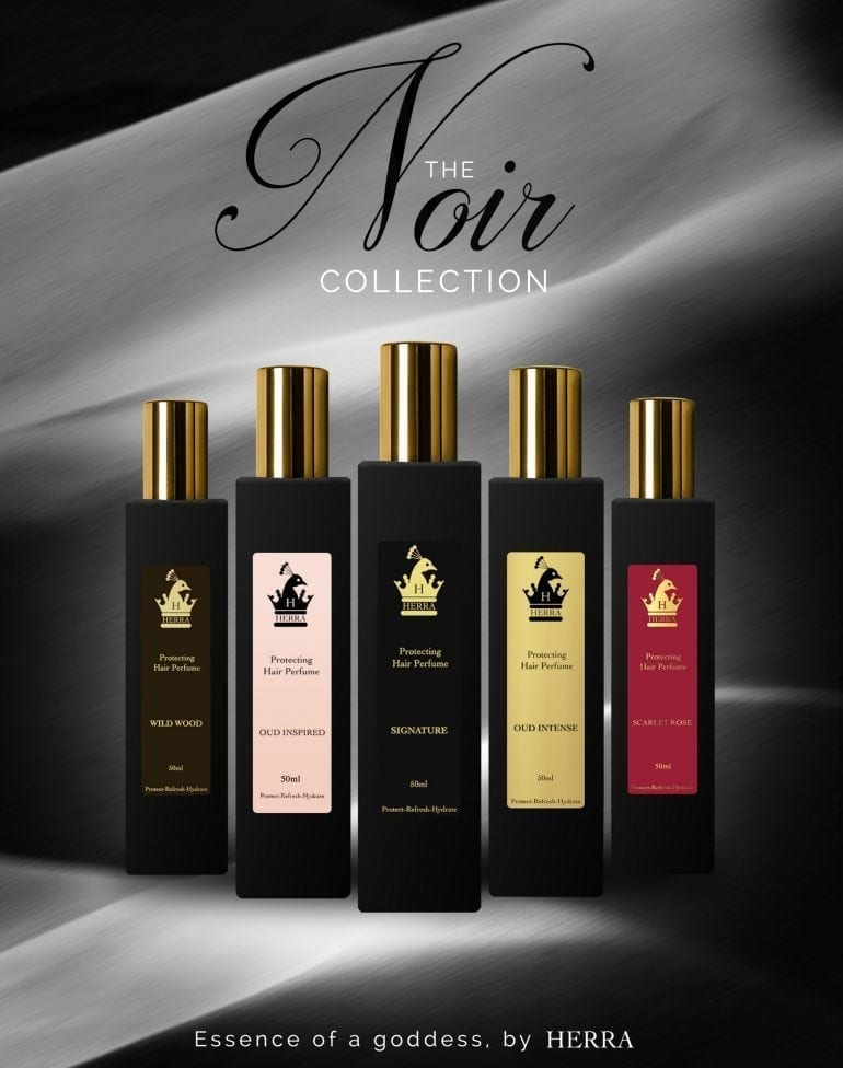herra noir advertisement collection revised ro 770x976 - Protecting Hair Perfume by Herra