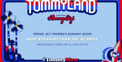 Live stream New Collection 2017 – Tommy Hilfiger