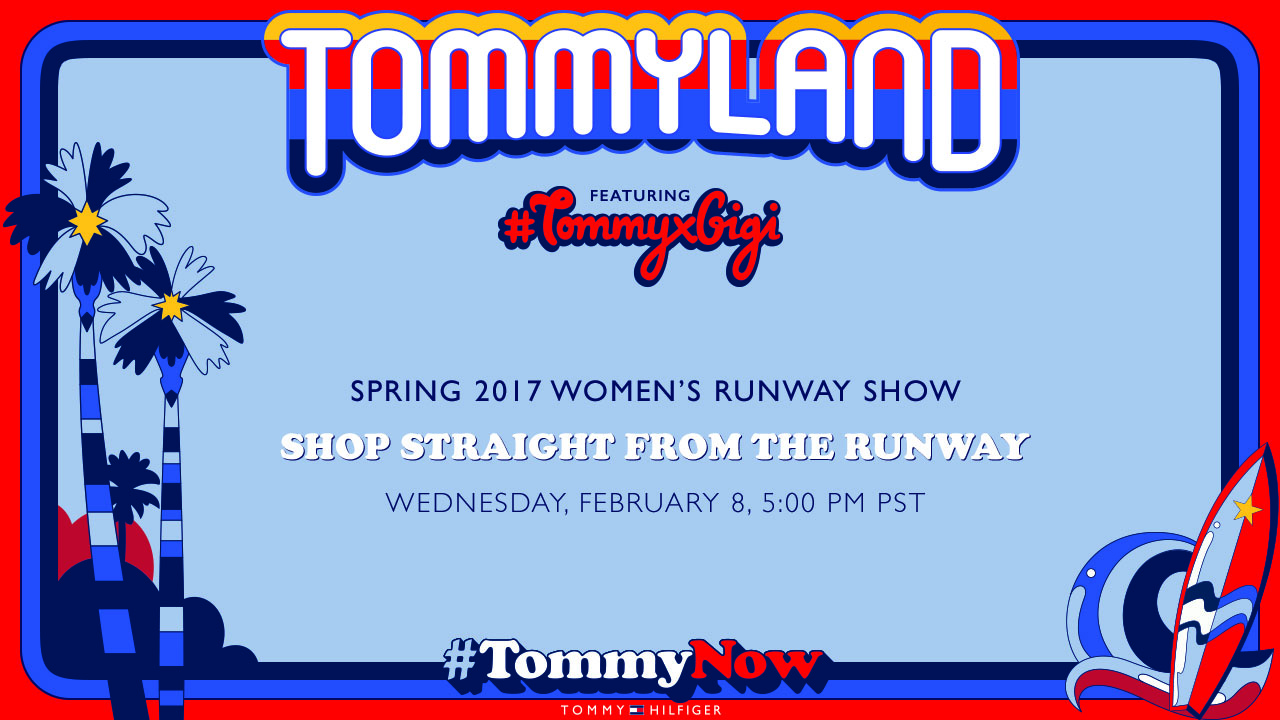 523.01.001 fashionWeek online player slate 1280x720 preshow final1 - Live stream New Collection 2017 - Tommy Hilfiger