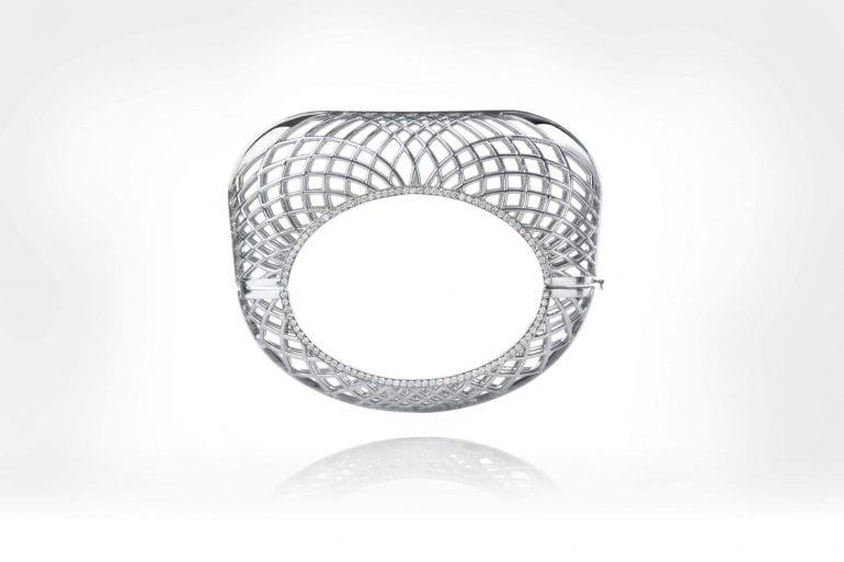 1273714 The Palladium Fine Jewellery Collection by Lara Bohinc Cuff 2 770x513 - Paladiu și rodiu - Noi nuanțe de gri