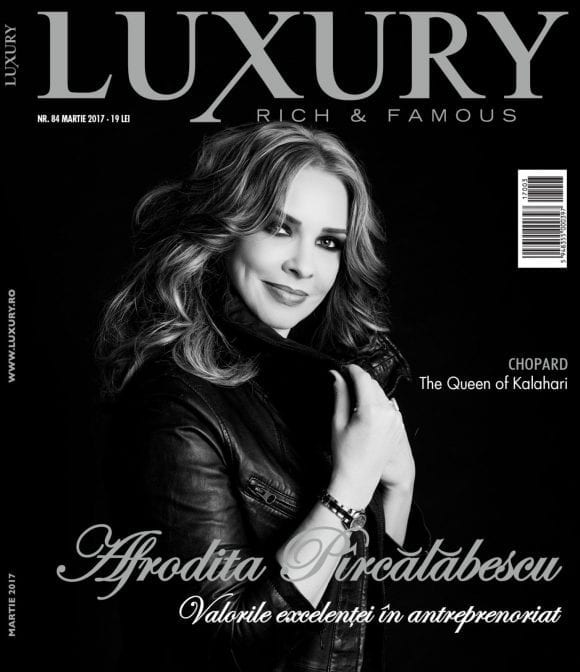 Luxury 84 – Afrodita Pîrcălăbescu / Martie 2017