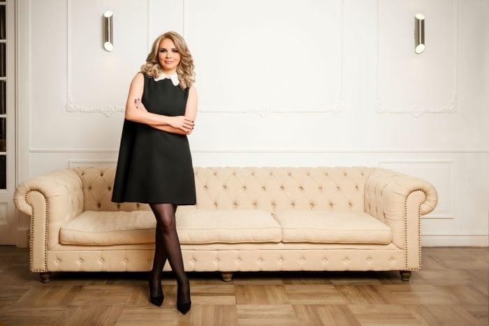 Afrodita Pîrcălăbescu, fondatoarea Bebe Supermarket Militari