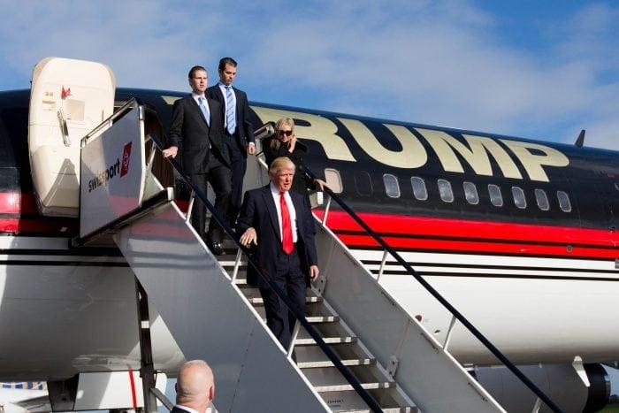 Flota aeriană a lui Donald Trump