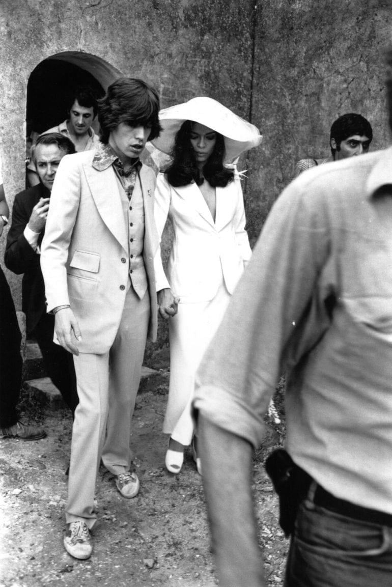 Mick Jagger & Bianca Jagger