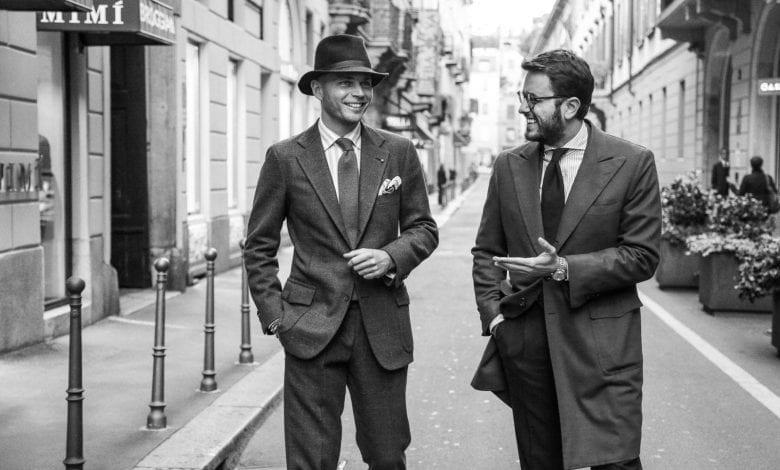 Rubinacci –  Street style ca replică adusă tradiției