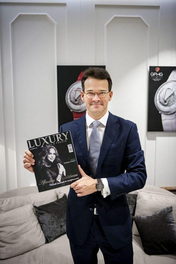 Sean Gilbertson, CEO Fabergé  Unele povești se sfârșesc brusc, altele răsună peste veacuri…