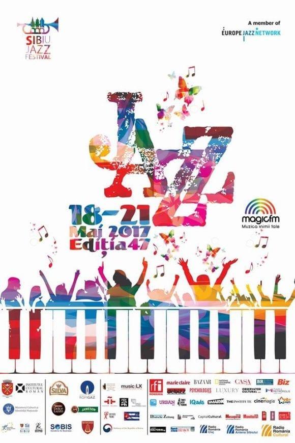 Artiști din 17 țări se întâlnesc la Sibiu Jazz Festival 2017