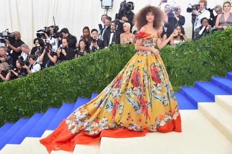 Zendaya Dolce Gabbana Dress Met Gala 2017 770x511 - Cultura fashion la cele mai înalte standarde, la Met Gala 2017