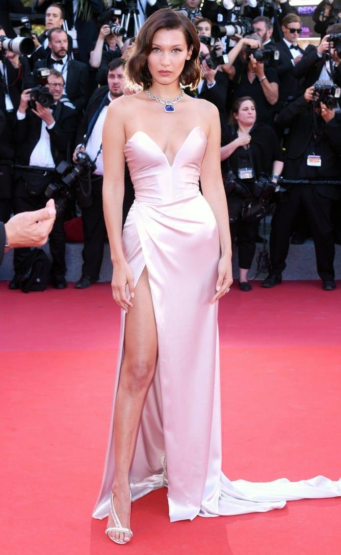 bella hadid21 - Cannes 2017 - cele mai spectaculoase ținute de pe covorul roșu