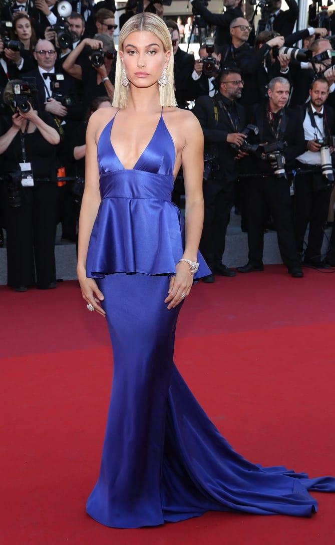 hailey baldwin7 - Cannes 2017 - cele mai spectaculoase ținute de pe covorul roșu
