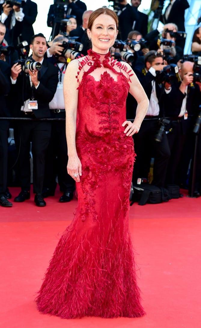 julianne moore3 - Cannes 2017 - cele mai spectaculoase ținute de pe covorul roșu