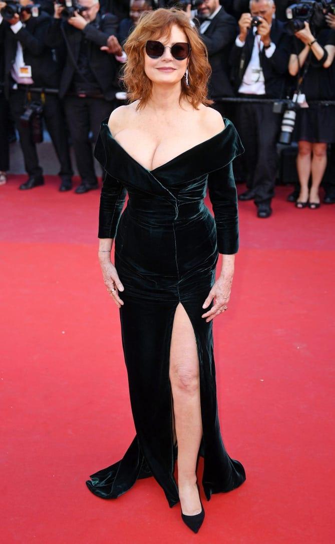 susan sarandon4 - Cannes 2017 - cele mai spectaculoase ținute de pe covorul roșu