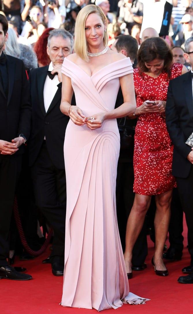 uma thurman - Cannes 2017 - cele mai spectaculoase ținute de pe covorul roșu