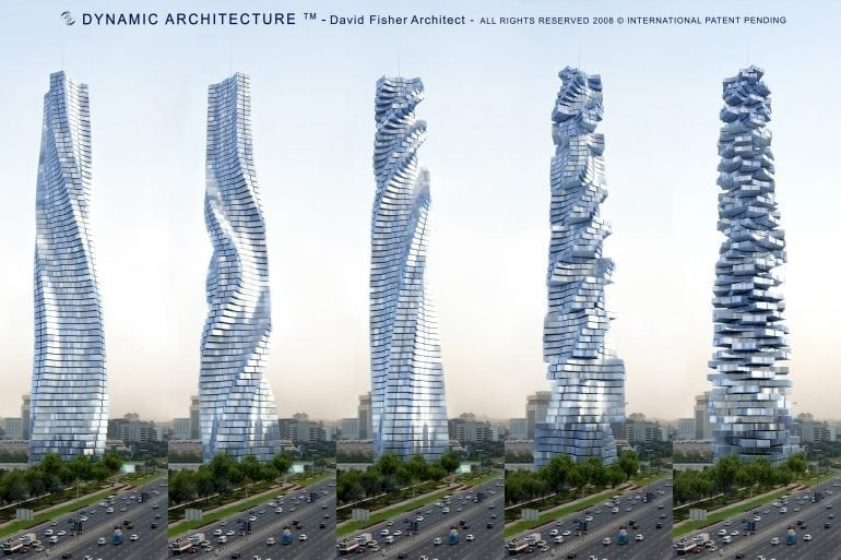 36266F26 C393 4F33 9D88 ACB4B7852DA6 770x513 - Tu decizi ce priveliște vei avea astăzi – Noul zgârie-nori rotativ din Dubai