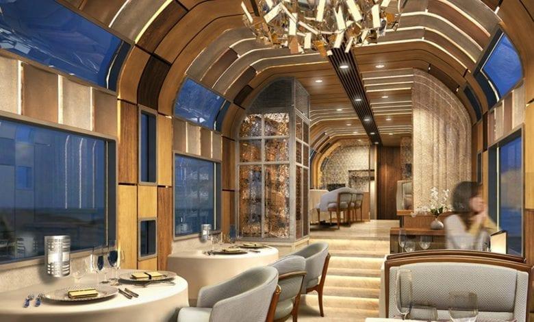 Shiki-Shima Cel mai luxos tren din Japonia