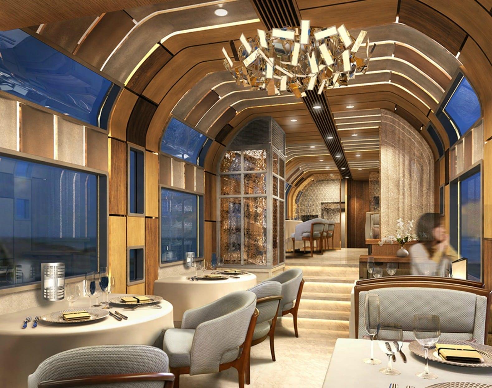 Train Suite Shiki shima12 - Shiki-Shima Cel mai luxos tren din Japonia