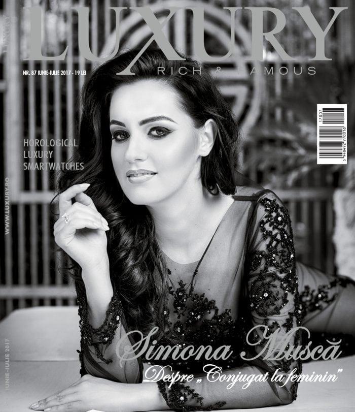 Luxury 87 – Simona Muscă / iunie-iulie 2017