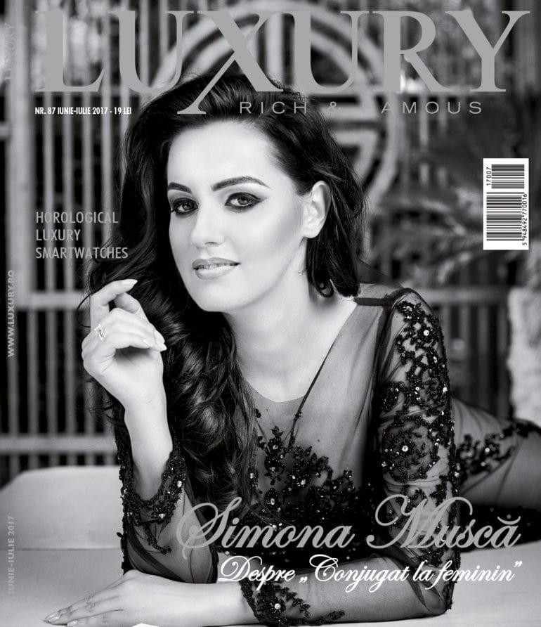 Coperta Luxury 87 fin web 770x892 - Luxury 87 - Simona Muscă / iunie-iulie 2017