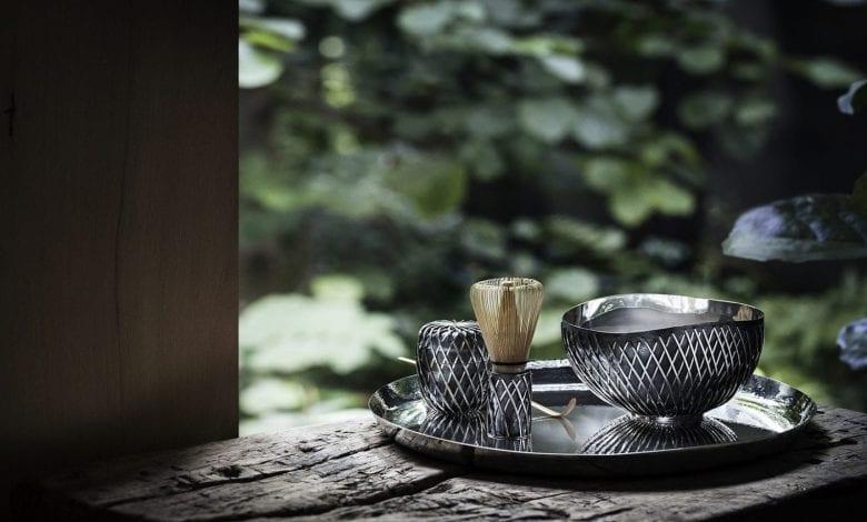 Serviciu de ceai exclusivist, creat de Kengo Kuma pentru Georg Jensen