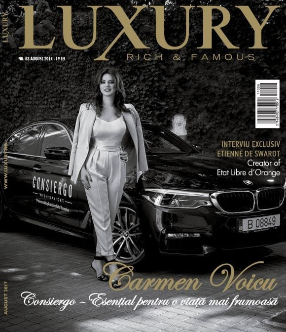 Luxury 88 – Carmen Voicu / august 2017