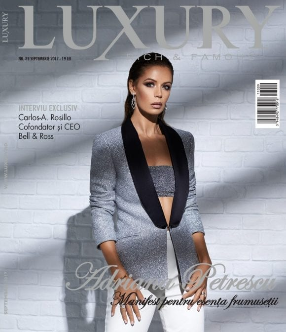 Luxury 89 – Adriana Petrescu / septembrie 2017
