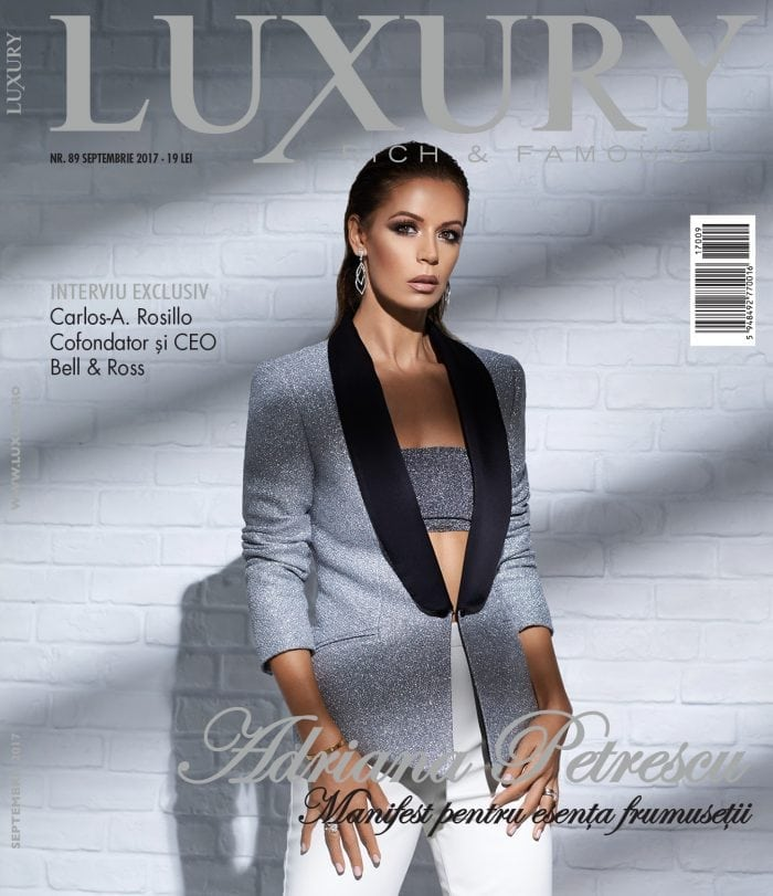 Luxury 89 – Adriana Petrescu / septembrie 2017