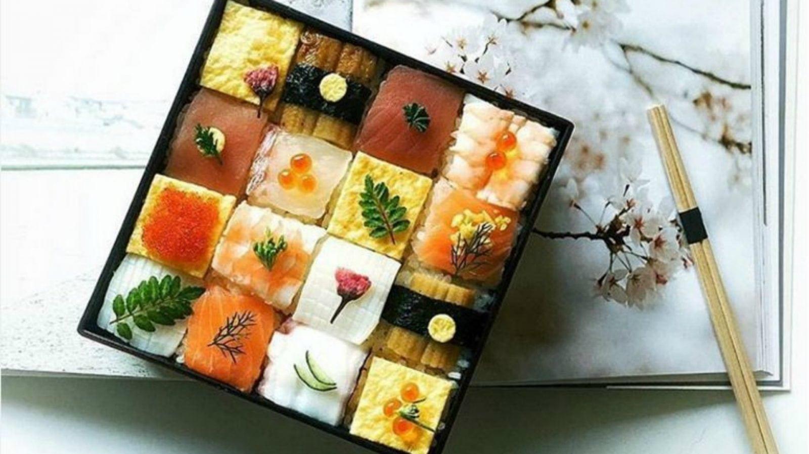 mosaic sushi - Un nou trend în gastronomie: Mosaic Sushi