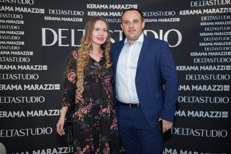 Alina Agibalova Senior Manager Export Department Kerama Marazzi si Tudor Cartianu CEO Delta Studio 1 770x513 - Delta Studio deschide primul showroom monobrand Kerama Marazzi din România