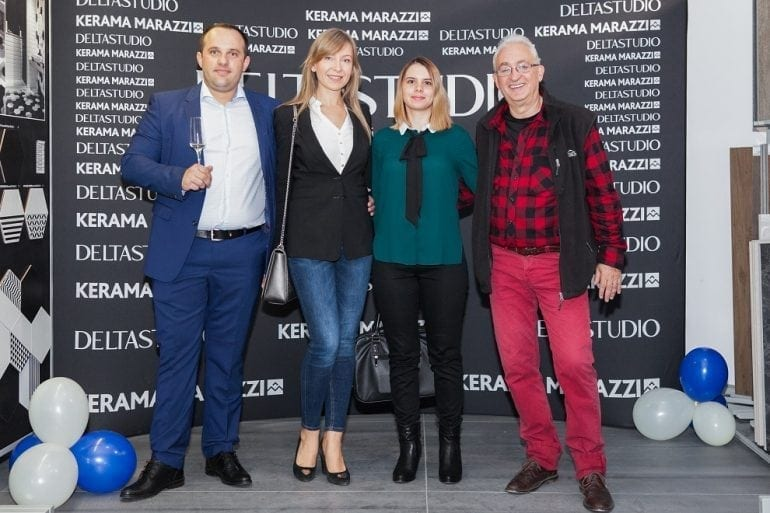 Reinaugurare Delta Studio Militari si deschidere Monobrand Kerama Marazzi 12 770x513 - Delta Studio deschide primul showroom monobrand Kerama Marazzi din România