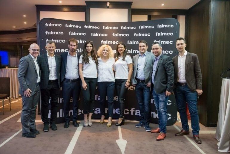 Eveniment Falmec Romania Noiembrie 2017 1 770x514 - Compania italiană Falmec lansează în România noua colecție de purificatoare Bellaria