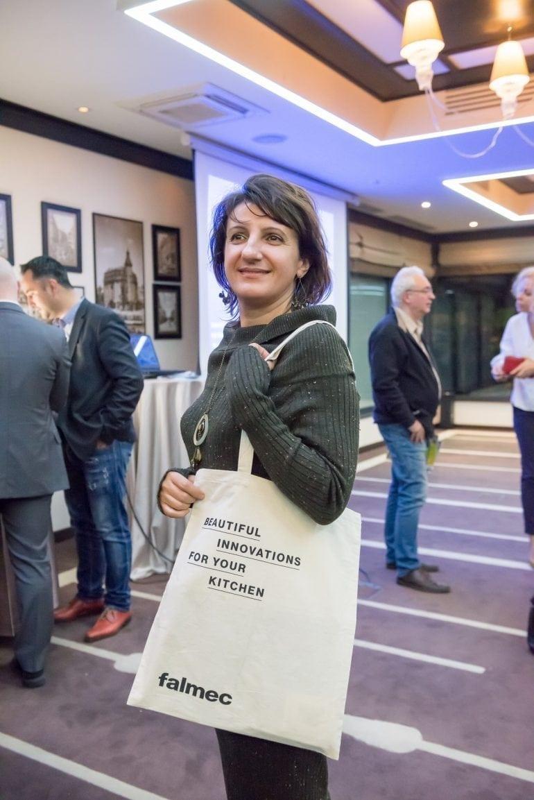 Eveniment Falmec Romania Noiembrie 2017 13 770x1153 - Compania italiană Falmec lansează în România noua colecție de purificatoare Bellaria