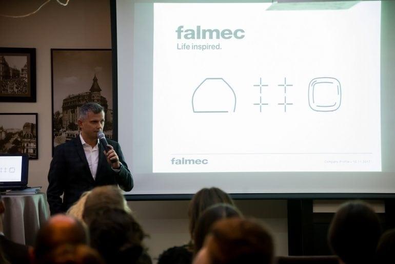 Eveniment Falmec Romania Noiembrie 2017 3 770x514 - Compania italiană Falmec lansează în România noua colecție de purificatoare Bellaria